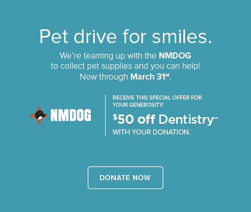 NMDOG Pet Drive - Santa Fe Modern Dentistry and Orthodontics